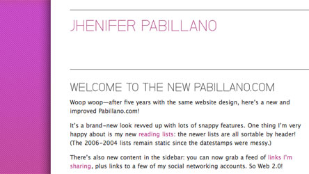 Jhenifer Pabillano - Home